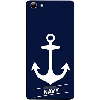 FUSON Designer Back Case Cover for Micromax Canvas Selfie 3 Q348 (Sea Ocean Nevy Soldiers Fighter Plains Ultrasonic )