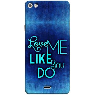 FUSON Designer Back Case Cover for Micromax Canvas Sliver 5 Q450 :: Silver Q450 (Baby Couples Nice Quotes Happy Lovely Hard Kisses )