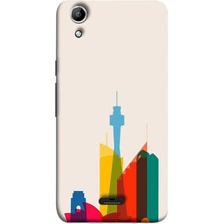FUSON Designer Back Case Cover for Micromax Canvas Selfie Lens Q345 (Industrial Best Wallpaper Design India America Asia Uae)