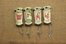 Multi-purpose lighters Eagle head/scorpion/butterfly and a Beer bottle opener gas lighters