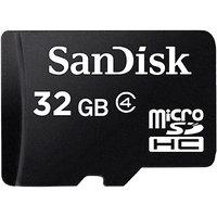 SanDisk 32 GB MicroSDHC Class 4 Memory Card