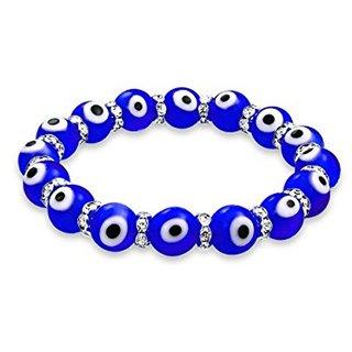 Evil Eye Buri Nazar Drishti Suraksha Blue Beads Bracelet