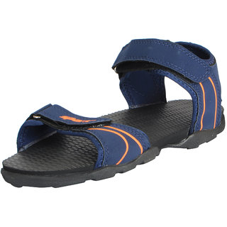 Sparx Men's Navy Orange Athletic and Outdoor Sandals
