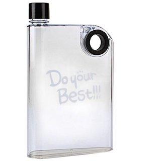 Xeekart A5 Best Memo Bottle Clear Black Water Bottle