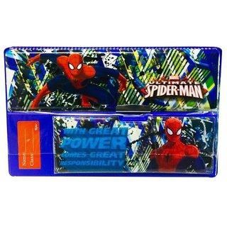 Priyankish Spiderman Jumbo Pencil Box
