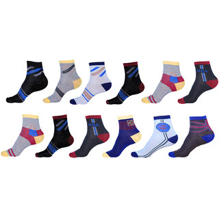 Stylish Ankle socks pack of 12