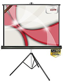 ELCOR Tripd projector screens 4ft x 6ft with 84 Diagonal In HD3D  4K Technology