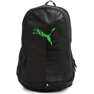 e9415ed3d2 53% OFF on Puma Black And green Casual Polyester Backpacks on Shopclues