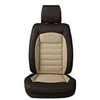 Musicar Maruti Ertiga Black  PU Leatherite Car Seat Cover with 1 Year Warranty And Body cover  Free