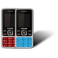 Forme N9+(Combo Of 2 Selfie Phones) Red With Blue (Self