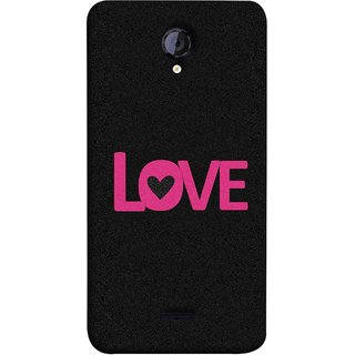 FUSON Designer Back Case Cover for Micromax Unite 2 A106 :: Micromax A106 Unite 2 (Love Life Forever Hearts Real Love True Lovers Valentine)