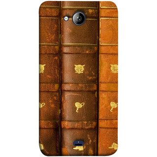 FUSON Designer Back Case Cover for Micromax Unite 3 Q372 :: Micromax Q372 Unite 3 (Law Book Library Bookshelf Knowledge Reading Always)