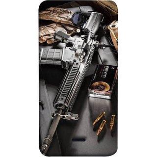 FUSON Designer Back Case Cover for Micromax Unite 2 A106 :: Micromax A106 Unite 2 (Rounds Ammunition Bullets Guns Aurora Murders)