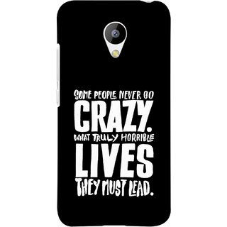 FUSON Designer Back Case Cover for Meizu M3 (What Truly Horrible Lives They Must Lead)