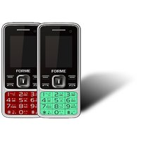 Forme N9+(Combo Of 2 Selfie Phones) Red With Green (Sel