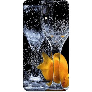 FUSON Designer Back Case Cover for Micromax Unite 2 A106 :: Micromax A106 Unite 2 (3D Water Splash Illustration Fuzzy Bubbles Unique)