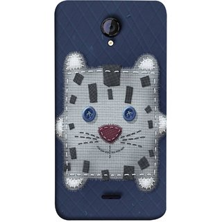 FUSON Designer Back Case Cover for Micromax Unite 2 A106 :: Micromax A106 Unite 2 (Cloth Embroidered Shirt Jacket Patch Mouse Iron Sew)