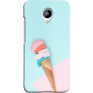 FUSON Designer Back Case Cover for Meizu M3 (Colourful Ice Cream Toy Baby Babies Chilling)