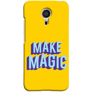 FUSON Designer Back Case Cover for Meizu M2 Note :: Meizu Note 2 (Wand Magically Make Differnece To Others Life )