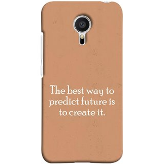 FUSON Designer Back Case Cover for Meizu M2 Note :: Meizu Note 2 (Yourself Motivational Inspirational Saying Quotes)