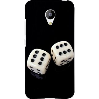 FUSON Designer Back Case Cover for Meizu M3 (Dice Pair Nice Game India Fevorite Children Boys Girls )
