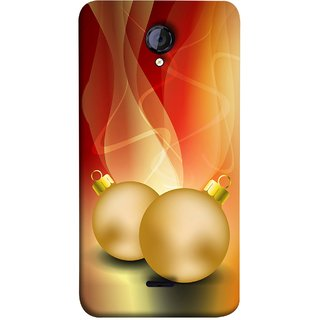 FUSON Designer Back Case Cover for Micromax Unite 2 A106 :: Micromax A106 Unite 2 (Holidays Party Arrange Yellow Red Pink Back Smokes)