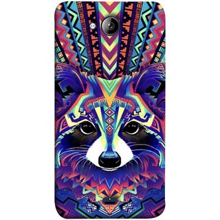 FUSON Designer Back Case Cover for Micromax Unite 3 Q372 :: Micromax Q372 Unite 3 (Dog Cat Kitten Whisker Puppy Triangle Rectangle)