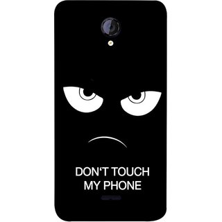 FUSON Designer Back Case Cover for Micromax Unite 2 A106 :: Micromax A106 Unite 2 (Nice Best Quotes Words Saying Motivational Angry Eyes)