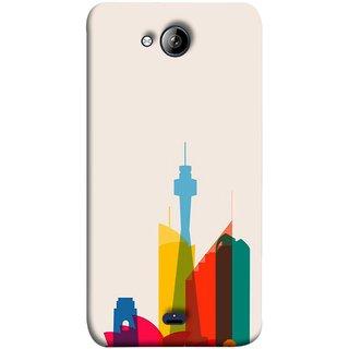 FUSON Designer Back Case Cover for Micromax Unite 3 Q372 :: Micromax Q372 Unite 3 (Industrial Best Wallpaper Design India America Asia Uae)