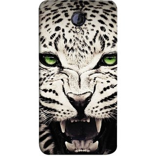 FUSON Designer Back Case Cover for Micromax Unite 2 A106 :: Micromax A106 Unite 2 (Jungle King Stearing Angry Roaring Loud Aslan Panther)