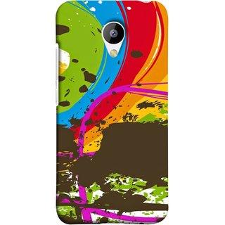 FUSON Designer Back Case Cover for Meizu M3 (Forest Nature Whimsical Fantasy Fine Art Spots)