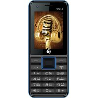 Jivi N2244, 2.4 Inch,Dual Sim, 1400 MAh Battery (Black+