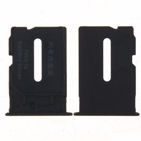 Sim Card Slot Sim Tray Holder Replacement Part for 1+1 (SANDSTONE BLACK)