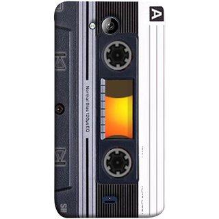 FUSON Designer Back Case Cover for Micromax Unite 3 Q372 :: Micromax Q372 Unite 3 (Menu Playlist Pause Fast Forward Backwards Black )