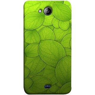 FUSON Designer Back Case Cover for Micromax Unite 3 Q372 :: Micromax Q372 Unite 3 (Leaf On Water Ajwain Leaves Beautiful Nice )