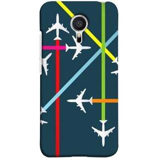 FUSON Designer Back Case Cover for Meizu M2 Note :: Meizu Note 2 (Aeropalnes Flights Schedules Origin Destination Map)