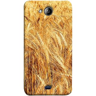 FUSON Designer Back Case Cover for Micromax Unite 3 Q372 :: Micromax Q372 Unite 3 (Wheat Farmers Farms Morning Sunlight Bright Day)