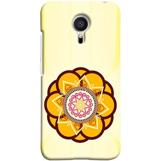 FUSON Designer Back Case Cover for Meizu M2 Note :: Meizu Note 2 (Best Rangoli Patterns Treditional Photo Wallpapers )