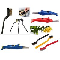 Combo offer 1 x Dolphin 2 In 1 Kitchen Dolphin Shape Electronic Gas Lighter With Led Torch , +  1 x 3 Pc Mini Wire Brus