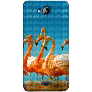 FUSON Designer Back Case Cover for Micromax Unite 3 Q372 :: Micromax Q372 Unite 3 (Animal Birds Long Beak Beautiful Wallpaper Designs)