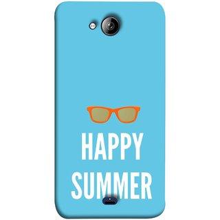 FUSON Designer Back Case Cover for Micromax Unite 3 Q372 :: Micromax Q372 Unite 3 (Beautiful Beach Sun Girls Yellow  Sunshine)
