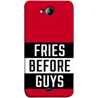 FUSON Designer Back Case Cover for Micromax Unite 3 Q372 :: Micromax Q372 Unite 3 (Food Before Dudes Food Lovers Mac D Lovers )
