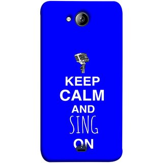 FUSON Designer Back Case Cover for Micromax Unite 3 Q372 :: Micromax Q372 Unite 3 (Lovers Couples Involved Forever Party Girly Song Sing)
