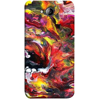 FUSON Designer Back Case Cover for Micromax Unite 3 Q372 :: Micromax Q372 Unite 3 (Art Gallery Style Wallpaper Wow Perfect Wall Paint)