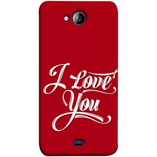 FUSON Designer Back Case Cover for Micromax Unite 3 Q372 :: Micromax Q372 Unite 3 (I Love You Always Lovers Valentine Hearts Kiss )