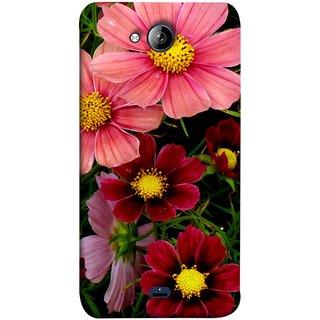 FUSON Designer Back Case Cover for Micromax Unite 3 Q372 :: Micromax Q372 Unite 3 (Flower Grass Green Small Nice Colourful Gerbera )
