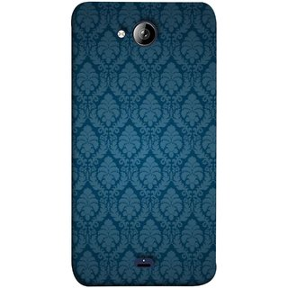 FUSON Designer Back Case Cover for Micromax Unite 3 Q372 :: Micromax Q372 Unite 3 (Blue Artwork Student Spots Amazing Plywood Table Cloth)