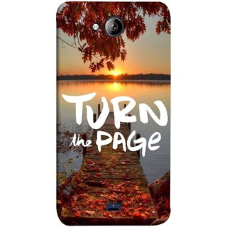 FUSON Designer Back Case Cover for Micromax Unite 3 Q372 :: Micromax Q372 Unite 3 (Nice Good Morning Sunshine Rise Lake Shore )