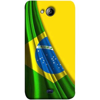 FUSON Designer Back Case Cover for Micromax Unite 3 Q372 :: Micromax Q372 Unite 3 (Brazilian Flag Olympiad In Brasil Happy Independence)