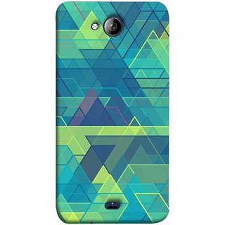 FUSON Designer Back Case Cover for Micromax Unite 3 Q372 :: Micromax Q372 Unite 3 (Hexagonal Shape Abstract Pattern Geometric Shapes )